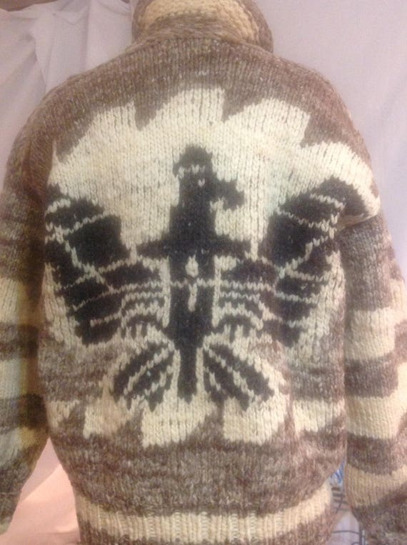Genuine Vintage Cowichan Sweater