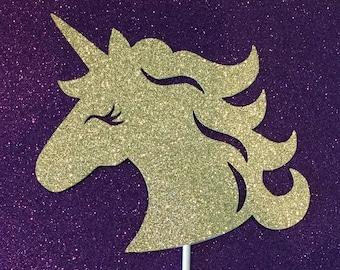 Unicorn Backdrop Unicorn Wall Decoration Unicorn Horn Wall Etsy