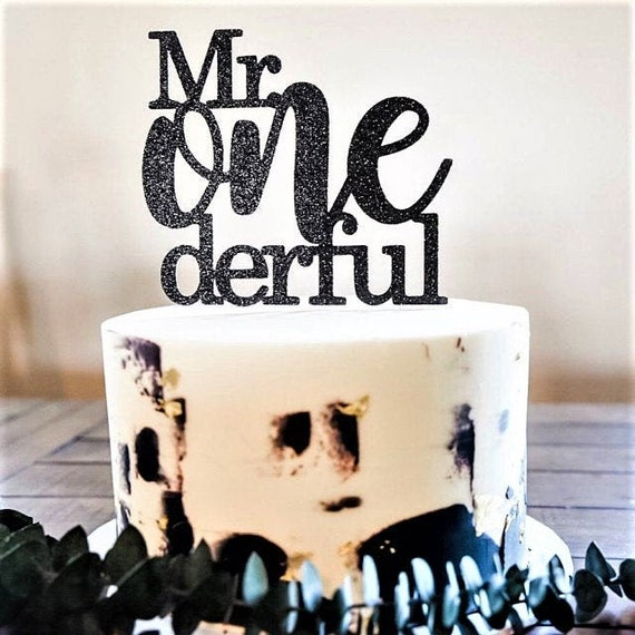 Astonishing Mr Onederful Cake Topper Boy First Birthday Cake Topper Mr Etsy Funny Birthday Cards Online Alyptdamsfinfo