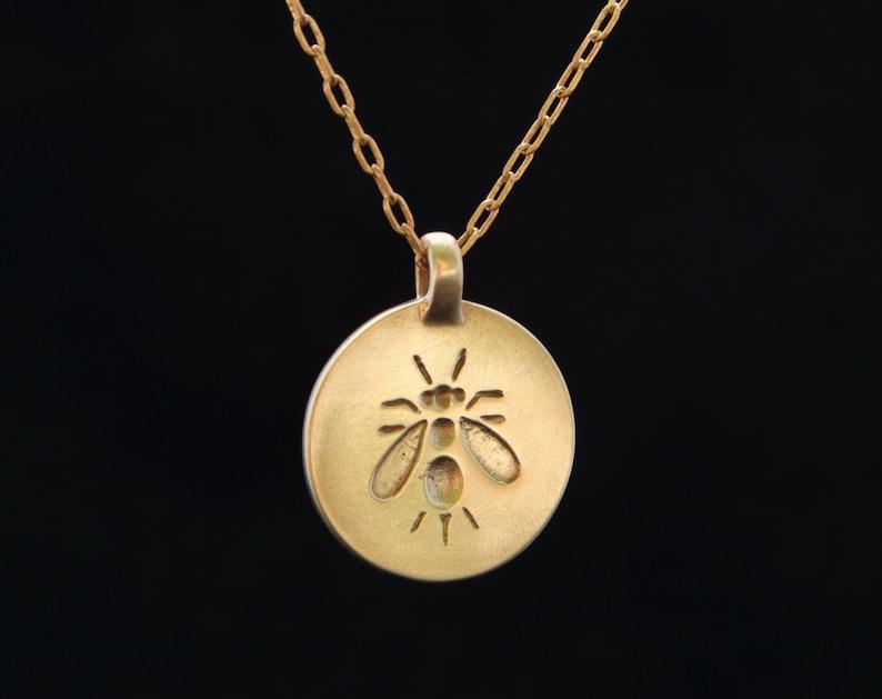 APIDAE pendant : modern bronze pendant image 0