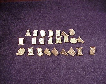 clear plastic acrylic craft uppercase letter 3 7 8 inches etsy
