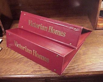 Lot of 2 Victorian Homes Magazine Empty Binders Books, each holds 12 magazines, Vintage