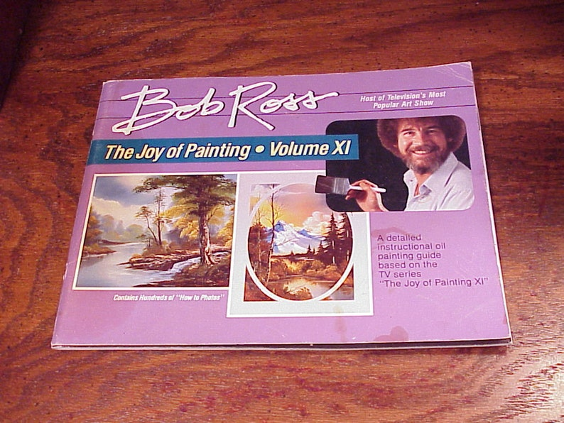 Bob.ross Joy Of Painting Book Volume 11 Instruction Books & Media Crafts
