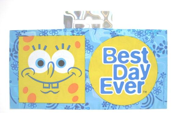 Nickelodeon SPONGEBOB SQUAREPANTS Body Jewelry Sticker ~ NEW ~ Fast Shipping!