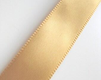 "Gold Satin Ribbon - 5/8"" - 16 mm"