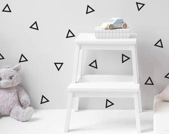 Triangle Vinyl Wall Decals, wall decal, nursery decal, vinyl decal, triangle stickers, triangle nursery decal, geometric decal