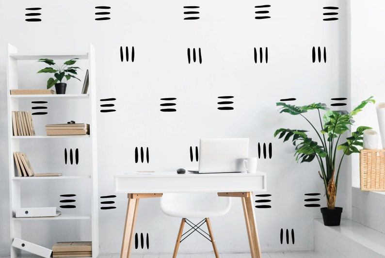 Lines wall decals trendy wall decals home wall decals image 0