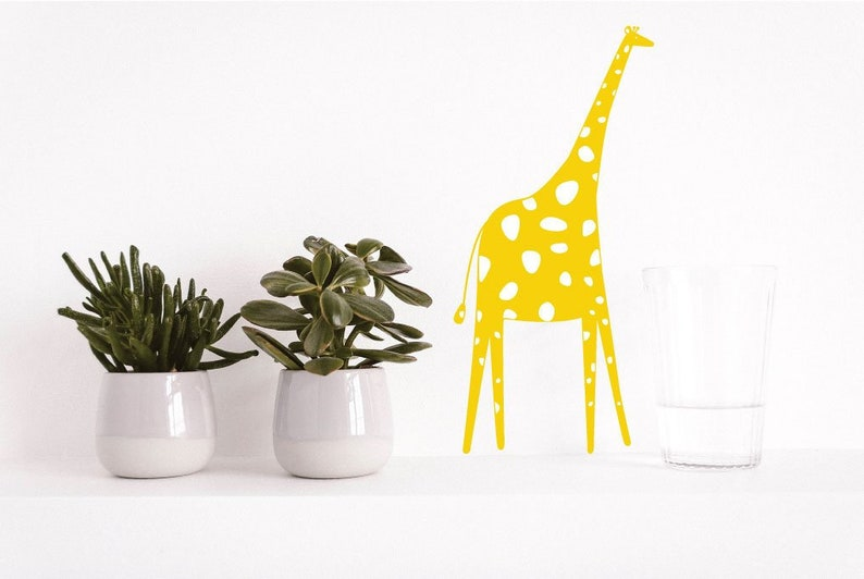 Giraffe decals nursery wall decal wall decals nursery image 0