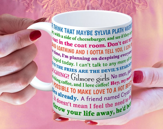 Coffee Mug Gilmore Girls Funny Quotes Coffee Cup
