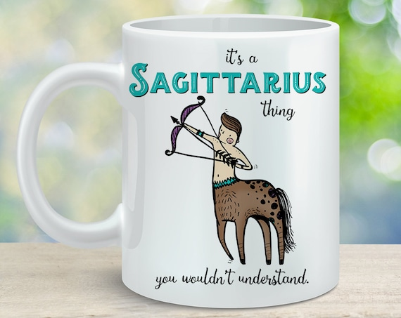Coffee Mug Sagittarius Astrological Sign Coffee Cup - Great Birthday Gift - Horoscope Mug