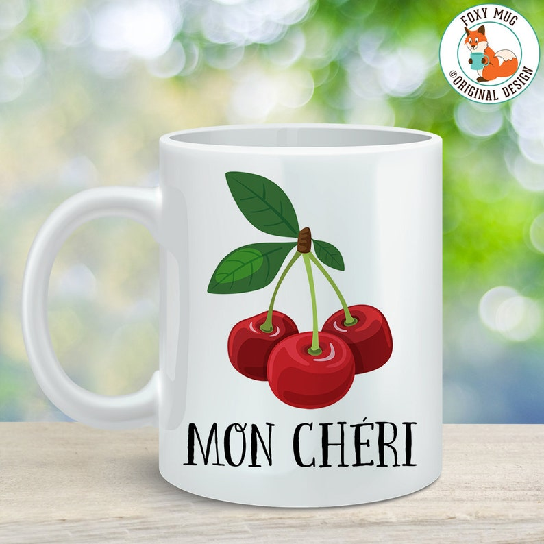Cup Cherry For My Cheri Mug Darling Great Gift Or Vegan Mon Coffee Vegetarian nkXNP8O0wZ