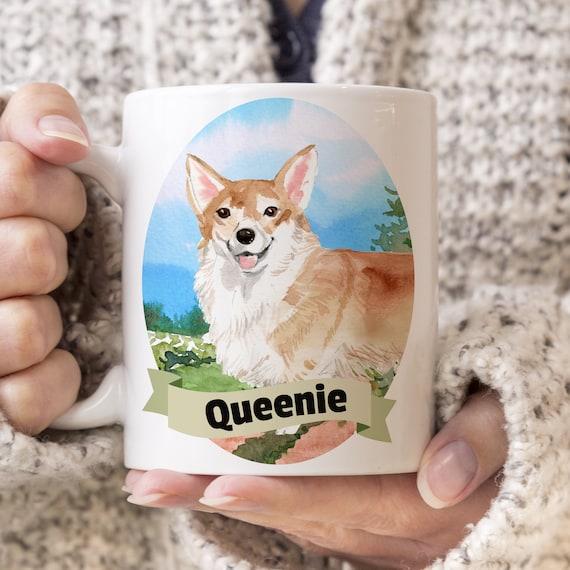 Corgi Custom Dog Mug - Get your dogs name on a mug - Dog Breed Mug - Great gift for dog owner - Corgi mug