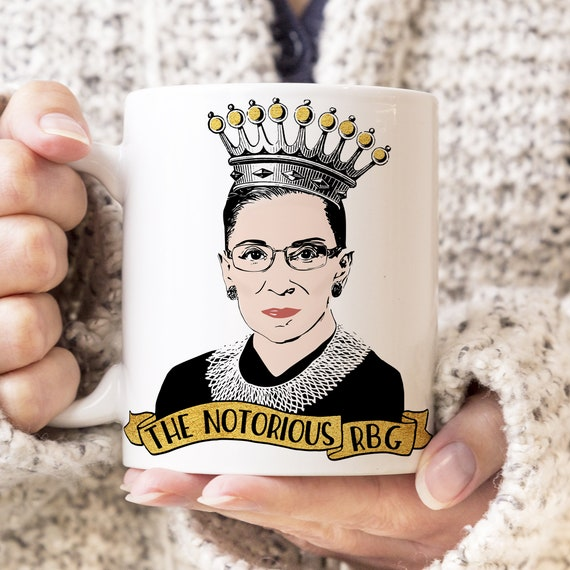 The Notorious RBG Coffee Mug Ruth Bader Ginsburg Microwave Dishwasher Safe Ceramic RBG Cup Notorious RBG