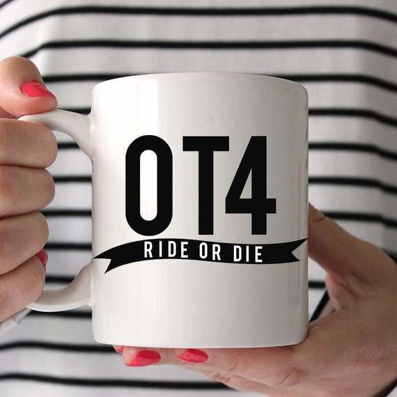 OT4 Ride or Die One Direction Mug