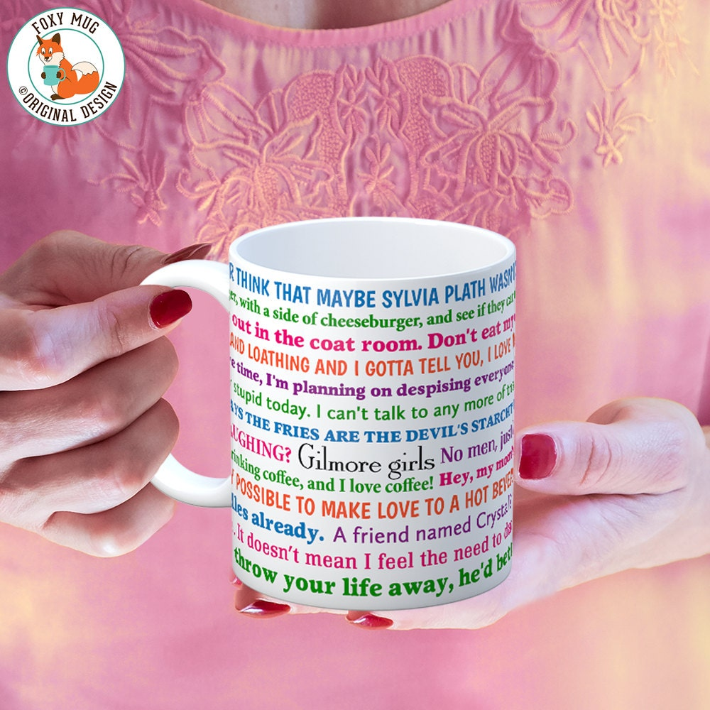 Coffee Mug Gilmore Girls Funny Quotes Coffee Cup Etsy