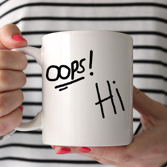 Coffee Mug Oops Hi - Larry Stylinson Coffee Mug