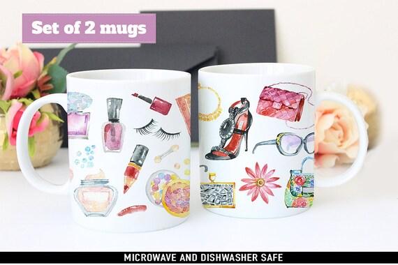 Coffee Mug Fashion and Beauty Coffee Mug Set