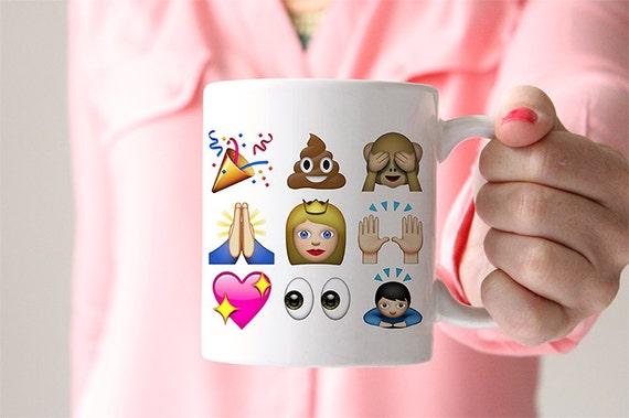 Coffee Mug Cute Emoji Mug