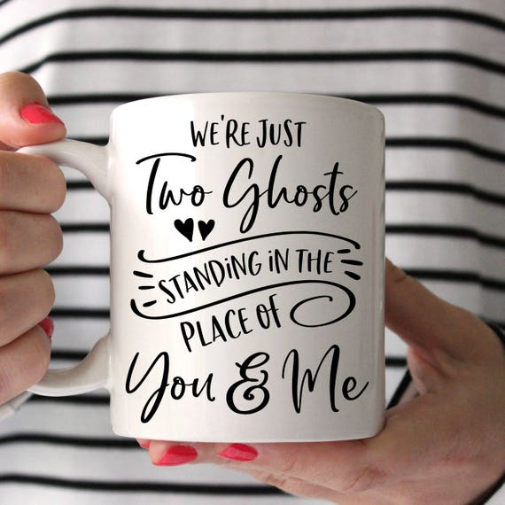 Harry Styles Two Ghosts Coffee Mug