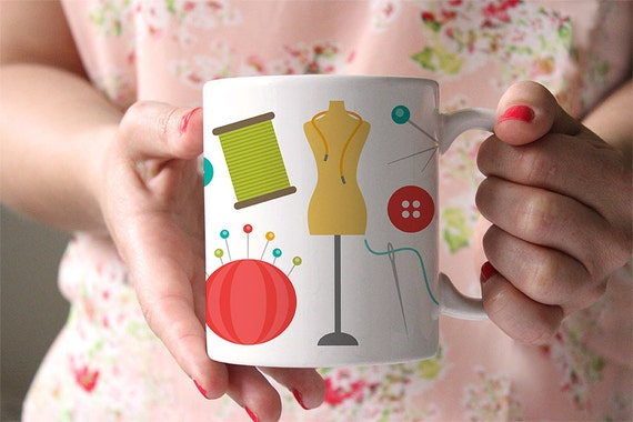 Coffee Mug Sewing Coffee Mug - Sewing Notions