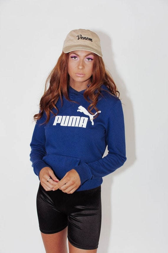 Vintage Puma Hoodie || Vintage Puma Sweatshirt ||
