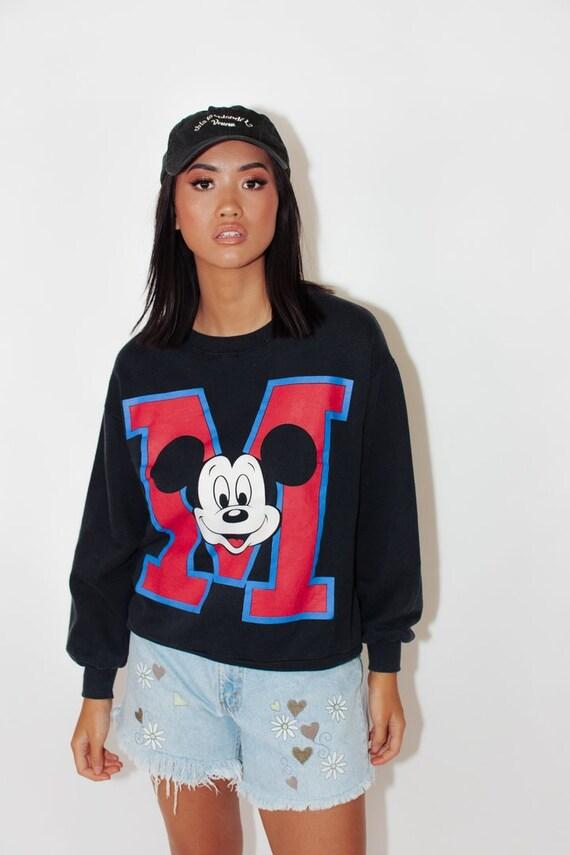 Vintage Disney Sweater || Vintage Mickey Mouse Jum