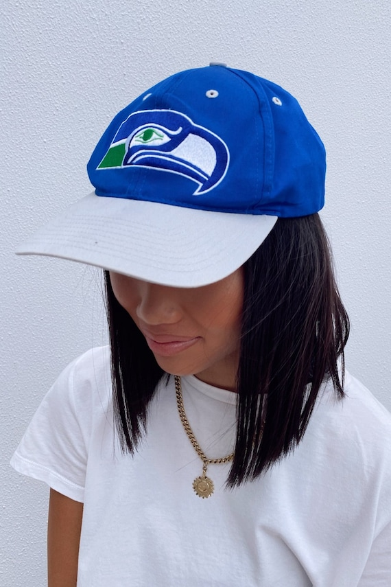 Vintage Snapback Hat || Seattle Seahawks