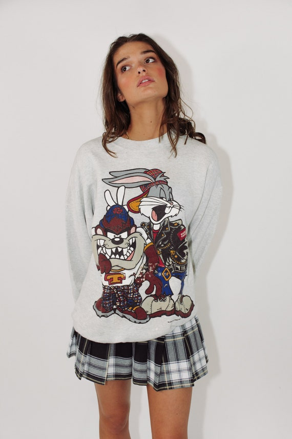 Vintage Looney Tunes Sweater || 1993