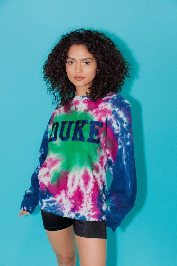 Vintage Sweatshirt || Duke Tie Dye