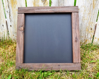 12x12 Rustic Farmhouse Chalk board