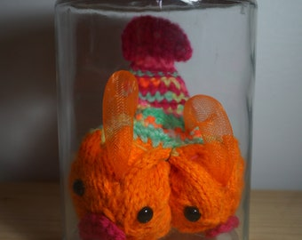 Woolen monsters collection: two-headed crawling