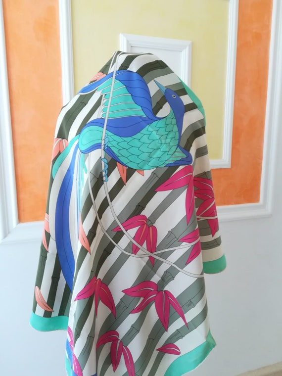 Foulard GRÈS, vintage silk