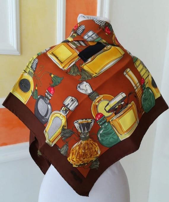 Jean Patou Vintage, scarf vintage