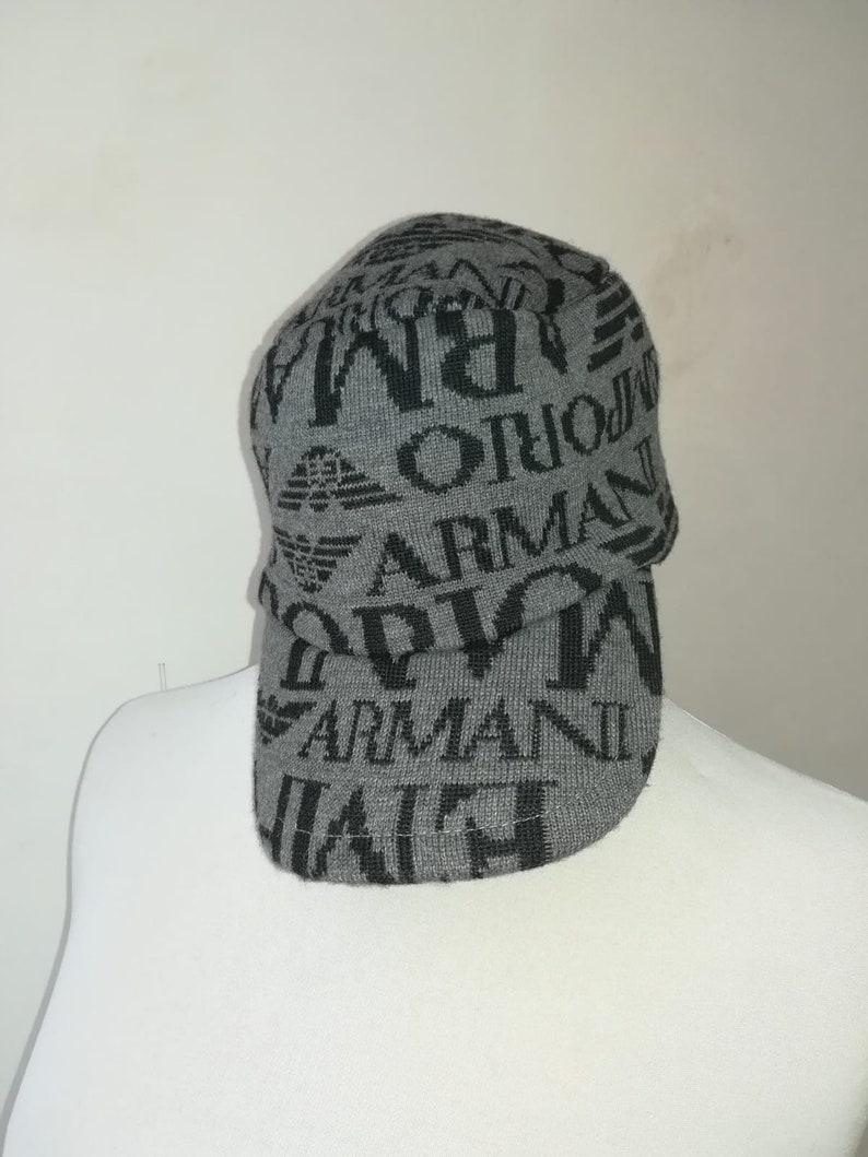 881952fbbf399 Giorgio Armani wool hat