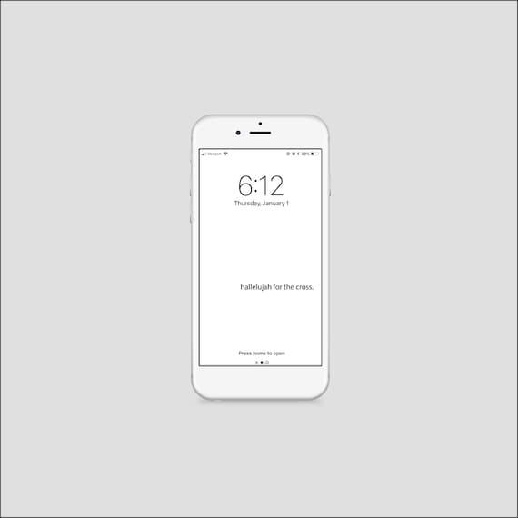 Iphone Wallpaper Bible Verse 2 Corinthians Minimal Etsy