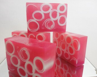 Guava Berry Goji SOAP LOAF - Pink Homemade Soap - Guava Berry Soap - Fruity Goji Soap - Handmade Moisturizing Soap - Womens Gift - Bulk Soap
