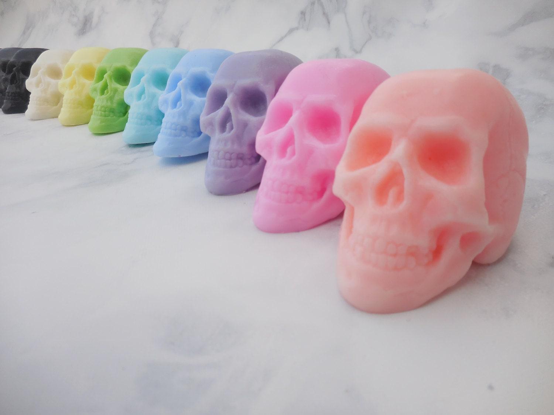 Skull Soap Halloween Soap Halloween Birthday Favors   Etsy