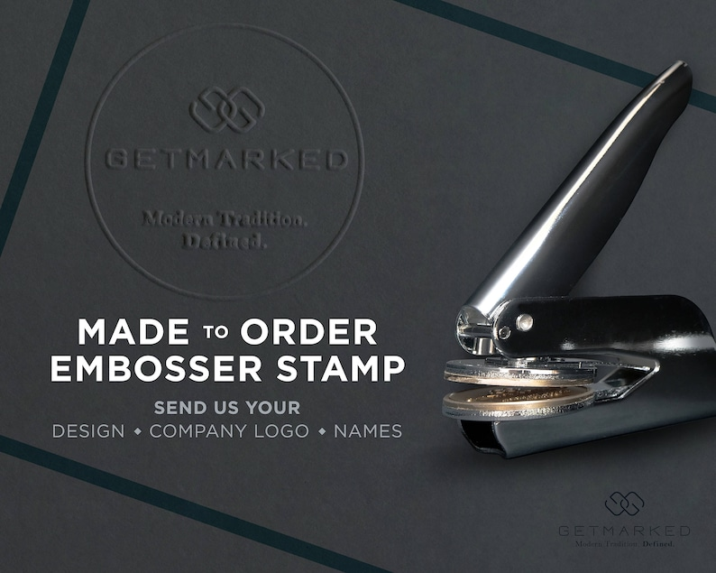 Customized Embosser Stamp ES0008 image 0