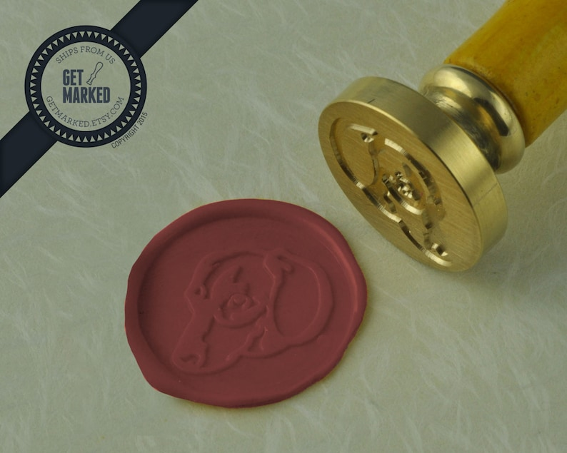 Dachshund WS0214 Dog Collection Wax Seal Stamp by Get Marked