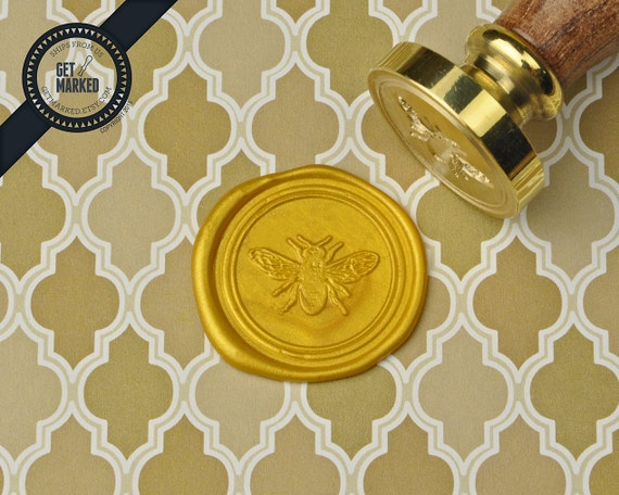 Wax Seal Stamp by Get Marked Happy New Year/_2 WS0448