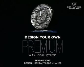 Premium Multi-Layer Customized Wax Seal Stamp (PS0001)