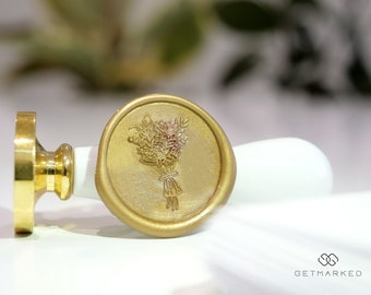 Jumbo Bouquet - Premium Wax Seal Stamp by Get Marked (WS0481)