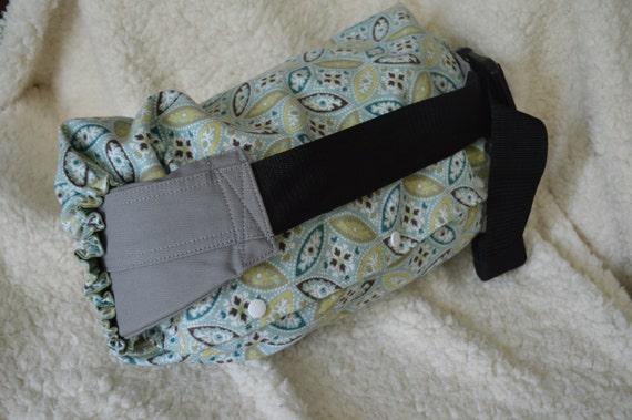 Tula Black and White Arrows and TeePees Tribal Baby Carrier Drool Pad for Ergo