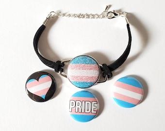 Genderqueer Pride Brooch,Gender Queer Flag,Gender Queer Jewelry,LGBTQ Brooch,Pride Jewelry,N189