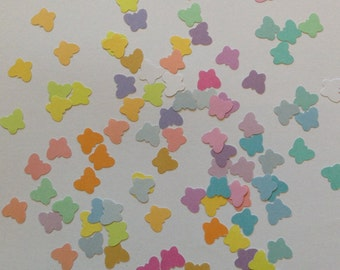 Butterfly confetti, butterfly punches, rainbow butterflies, pastel, wedding confetti, baby shower, table decor, girls birthday