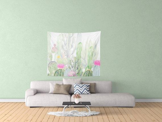 Cactus moderne conçu tapisserie articles ménagers décor de