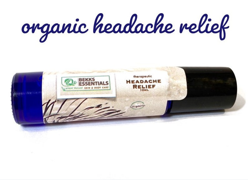 Organic, natural headache relief for tension, sinus & stress relief  10ML -  Free Shipping!