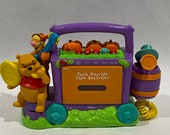 Vintage Tiger Electronics Disney 39 s Winnie the Pooh Hayride Tape Recorder - Tigger Piglet Microphone