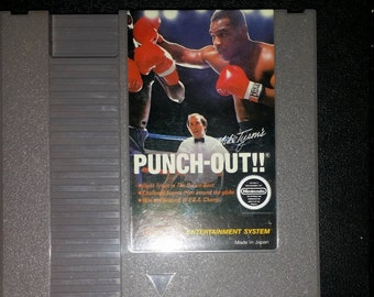 Mike Tysons Punch out for Regular Nintendo NES