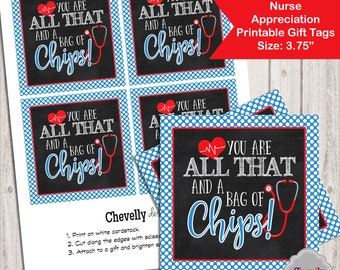 picture relating to You're All That and a Bag of Chips Printable identified as Bag of chips Etsy
